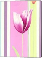Flowers & Stripes III Fine-Art Print