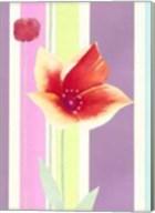 Flowers & Stripes IV Fine-Art Print