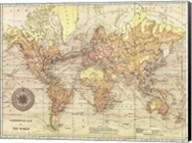 World Map II Fine-Art Print