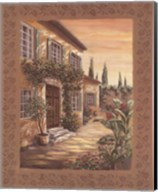 Provence Courtyard I Fine-Art Print