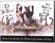 Cat Party Fine-Art Print