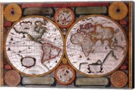 Map - Terre Universelle Fine-Art Print
