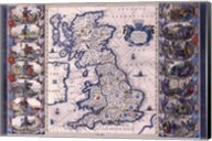 Map - Britannia Fine-Art Print