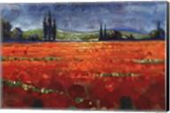 Spring Meadows II - Cut Fine-Art Print
