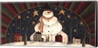 Snowman Arch Fine-Art Print
