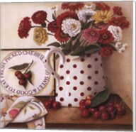 Fresh Picked Cherries Fine-Art Print