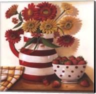 Strawberries in a Bowl Fine-Art Print