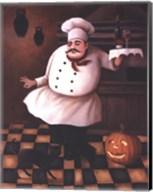 Halloween Chef II Fine-Art Print