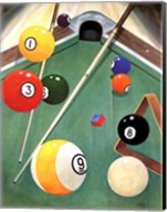 Billiards I Fine-Art Print