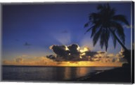 Sunrise Paradise Wall Poster