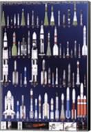 International Space Rockets Fine-Art Print