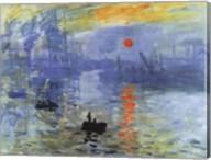 Impression, Sunrise, c.1872 Fine-Art Print
