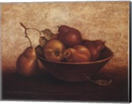 Pears In Bowl Fine-Art Print