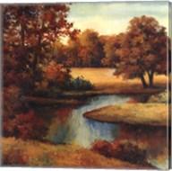 Lakeside Serenity I Fine-Art Print