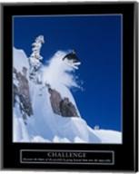 Challenge - Skier Fine-Art Print
