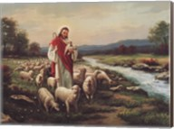 Jesus The Shepherd (Verse) Fine-Art Print
