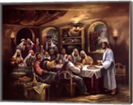 Black Last Supper Fine-Art Print