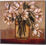 White Autumn Magnolias Fine-Art Print