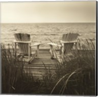 Beach Chairs Fine-Art Print