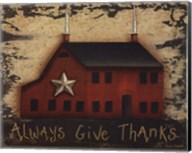 Always GiveThanks Fine-Art Print