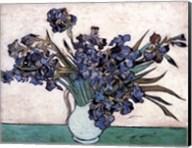Irises in Vase, c.1890 Fine-Art Print