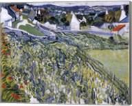 Vineyards at Auvers, c.1890 Fine-Art Print