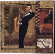 Jazz Sax - Petite Fine-Art Print