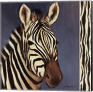 Exotic Zebra - Mini Fine-Art Print