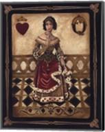 Harlequin Queen - Mini Fine-Art Print