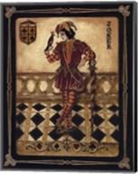 Harlequin Joker - Mini Fine-Art Print