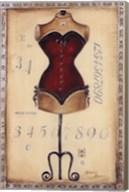Taille De Robe I - Mini Fine-Art Print