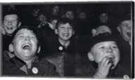Boys Laugh at Children's Movie Session Fine-Art Print