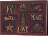 Joy Peace Love Fine-Art Print