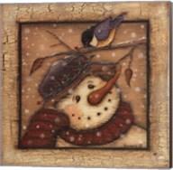 Snowman I Fine-Art Print