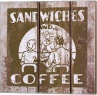 Sandwich and Coffee Fine-Art Print