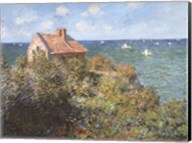 Fisherman's Cottage on the Cliffs at Varengeville, 1882 Fine-Art Print