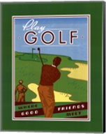 Play Golf Fine-Art Print