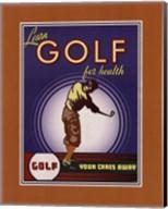 Golf For Health Fine-Art Print