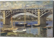 Bridge at Argenteuil Fine-Art Print