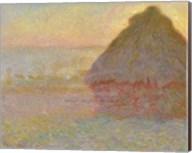 Grainstack (Sunset), 1891 Fine-Art Print