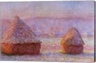 Haystacks '89 Fine-Art Print