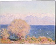 View of Bay At Antibes & Maritime Alps Fine-Art Print