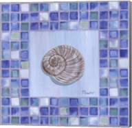 Mosaic Moonshell - mini Fine-Art Print