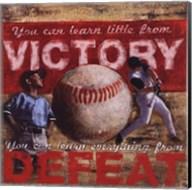 Victory - Baseball Fine-Art Print