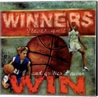 Winners - Basketball Fine-Art Print