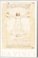 The Vitruvian Man Fine-Art Print