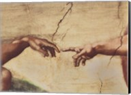 The Creation of Adam (detail) Fine-Art Print