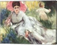 Woman with a Parasol Fine-Art Print