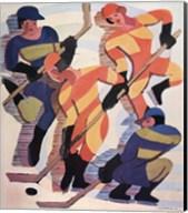 Hockey Players Fine-Art Print