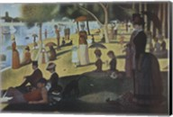 Sunday Afternoon on the Island of La Grande Jatte, c.1886 Fine-Art Print